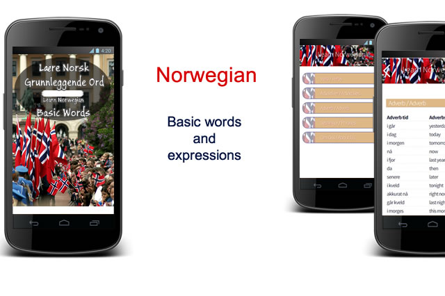 Basic words and expessions in Norwegian, Snakker pa norsk